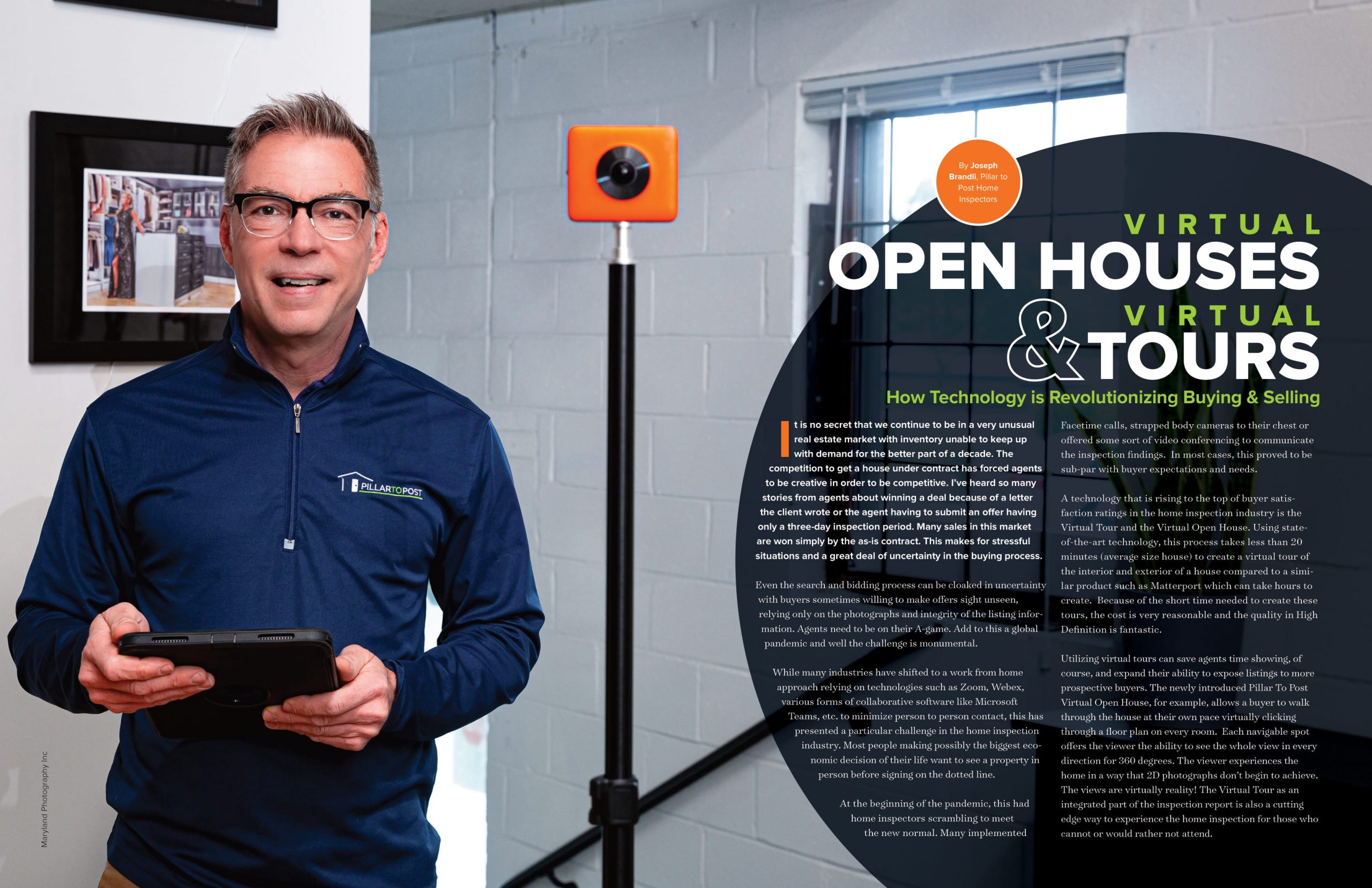 virtual open houses and virtual tours technology